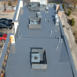 Commercial Flat Roof Coating