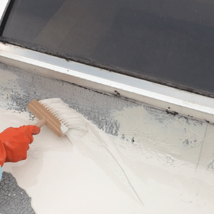 pant-on-roofing-sealant