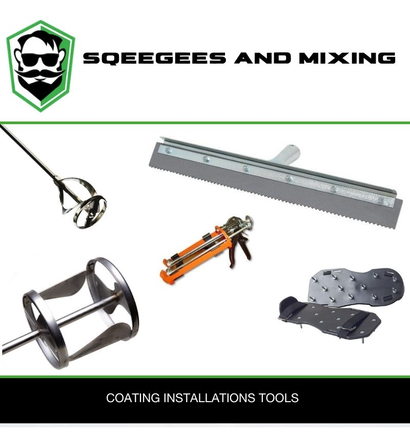 Squeegees and Mixing Tools